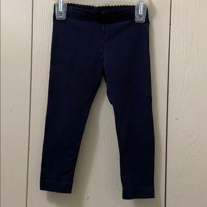 3/$20 Tea Collection Navy Blue Leggings